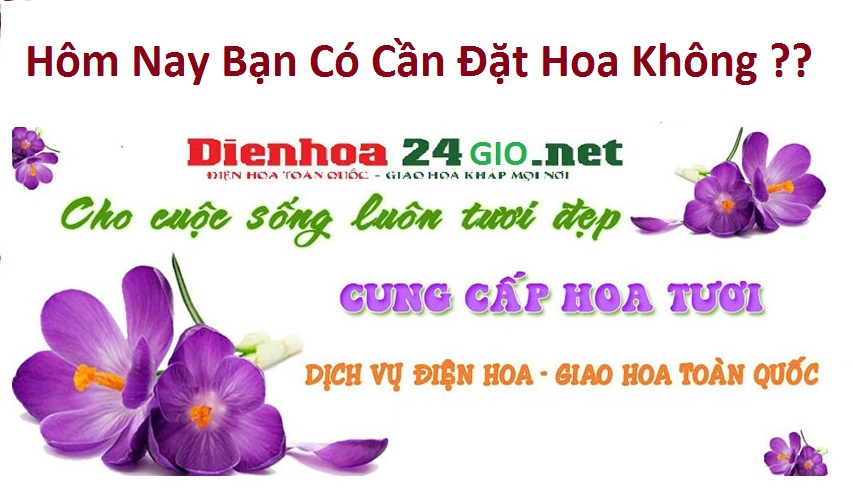 Hoa khai trương Tân Phước