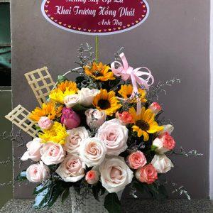 Tiệm hoa tươi tại Cái Lậy