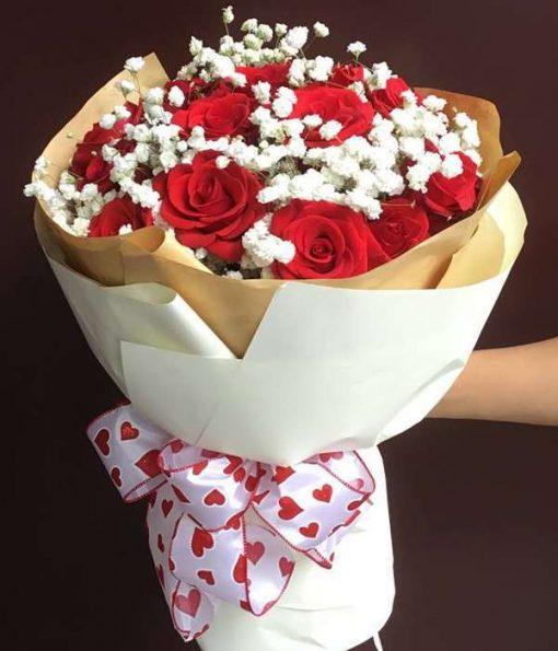 hoa chia buồn Tân Phước