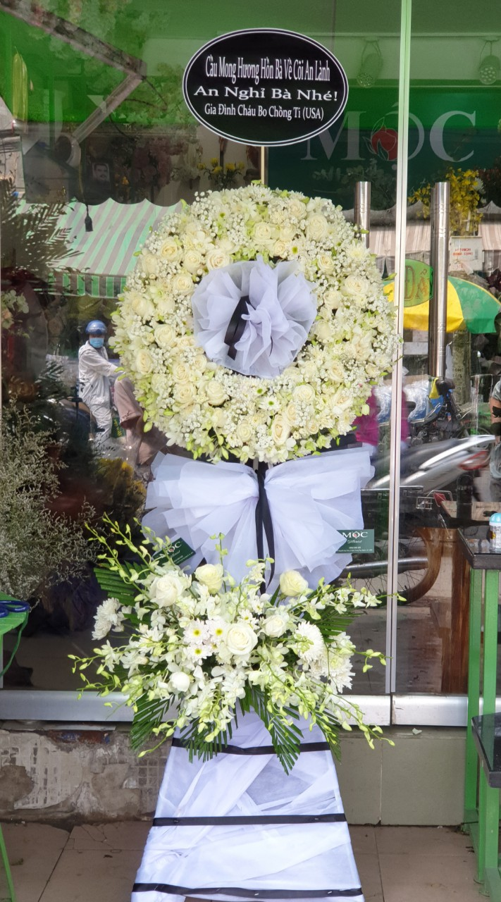 Shop hoa chia buồn Châu Thành