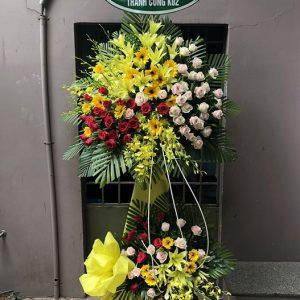 hoa chia buồn Gò Công Đông